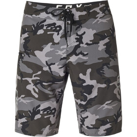 Fox Overhead Camo Stretch Boardshorts Heren, black camo